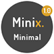 Minix - Minimal Portfolio Template - ThemeForest Item for Sale