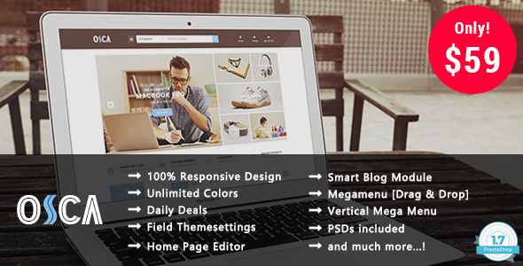 Osca - Shopping Responsive Prestashop 1.7 Theme - Shopping PrestaShop