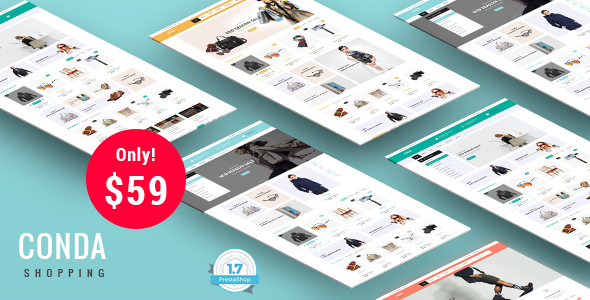Conda - Shopping Responsive Prestashop 1.7 Theme