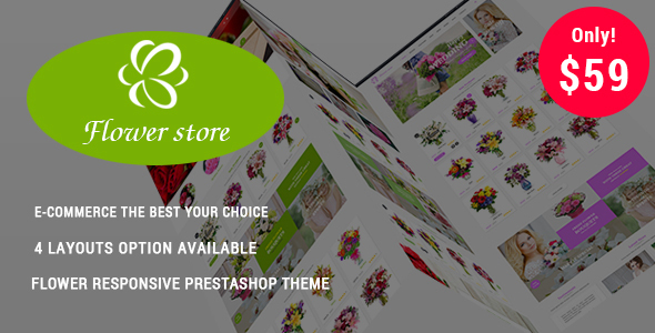 Flower Store - Responsive Prestashop Theme - Health & Beauty PrestaShop
