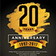 Gold Anniversary Invitation - GraphicRiver Item for Sale