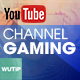 Gaming Channel - Youtube Banner Template