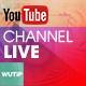 Live Channel - Youtube Banner Template