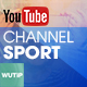 Sport Channel - Youtube Banner Template
