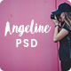 Angeline - Minimal Ecommerce PSD Template Nulled