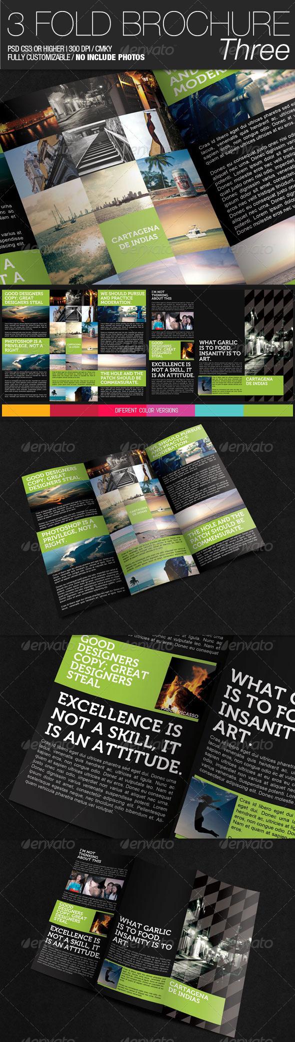 3 Fold Brochure III - Corporate Brochures