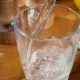 Mineral Water Pouring Into a Glass