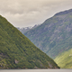 Norwegian fjord landscape. Hellesylt-Geiranger cruise route. Visit Norway. Travel - PhotoDune Item for Sale