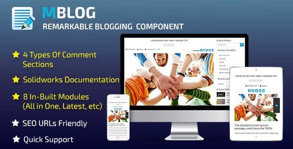 CodeCanyon M-Blog 20364313