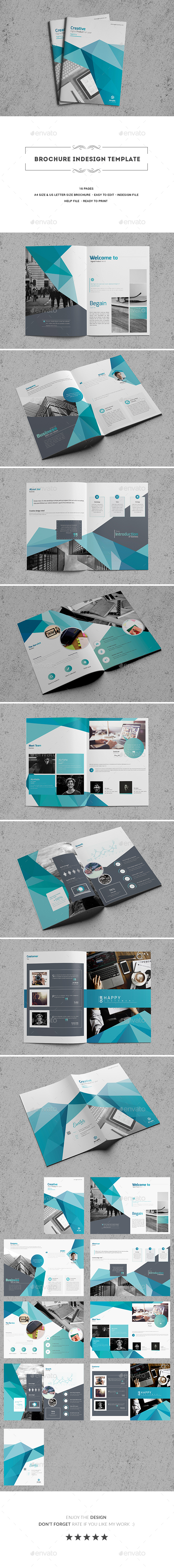 GraphicRiver Brochure Indesign Template 20364434