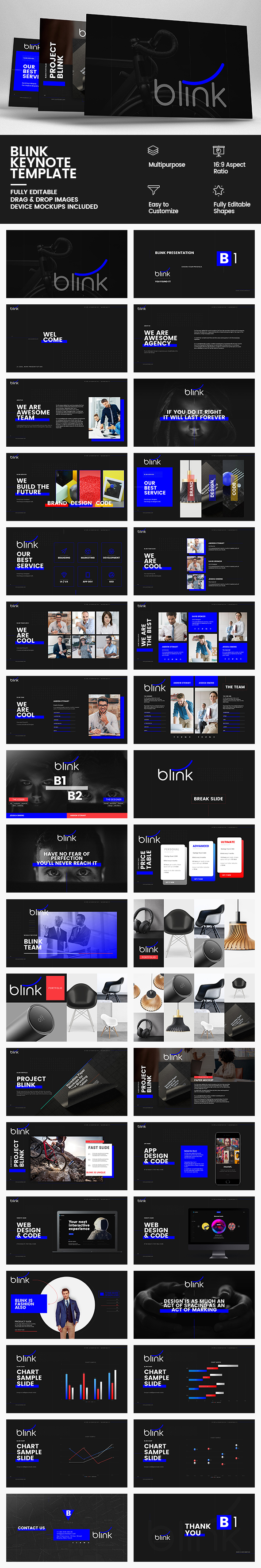 GraphicRiver Blink Keynote Template 20364504