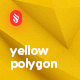 10 Different Yellow Polygon Backgrounds