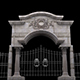 Gate With Decorative Grill - VideoHive Item for Sale