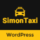 SimonTaxi - Taxi Booking WordPress Theme Nulled