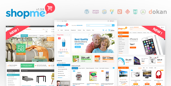 ShopMe - Woocommerce WordPress Theme - WooCommerce eCommerce