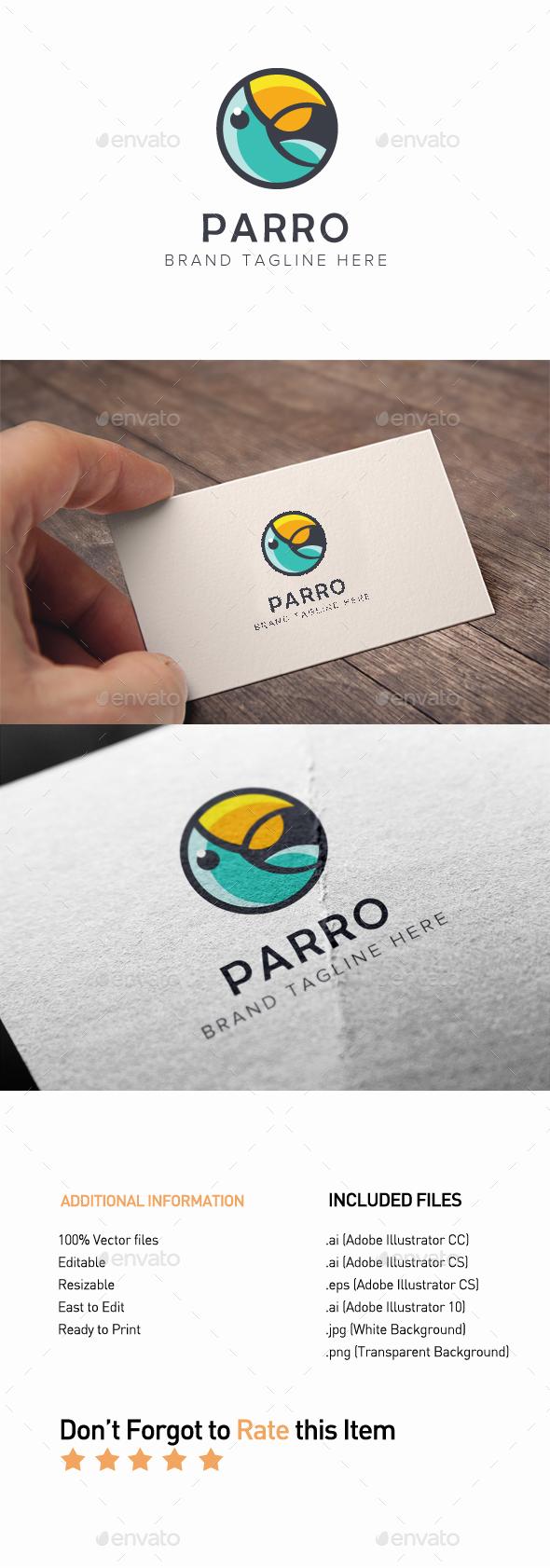 GraphicRiver Parro Logo 20364779