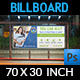 Volunteer Billboard Template - GraphicRiver Item for Sale