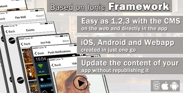 CodeCanyon Restaurant App with CMS iOS & Android Version 20365045