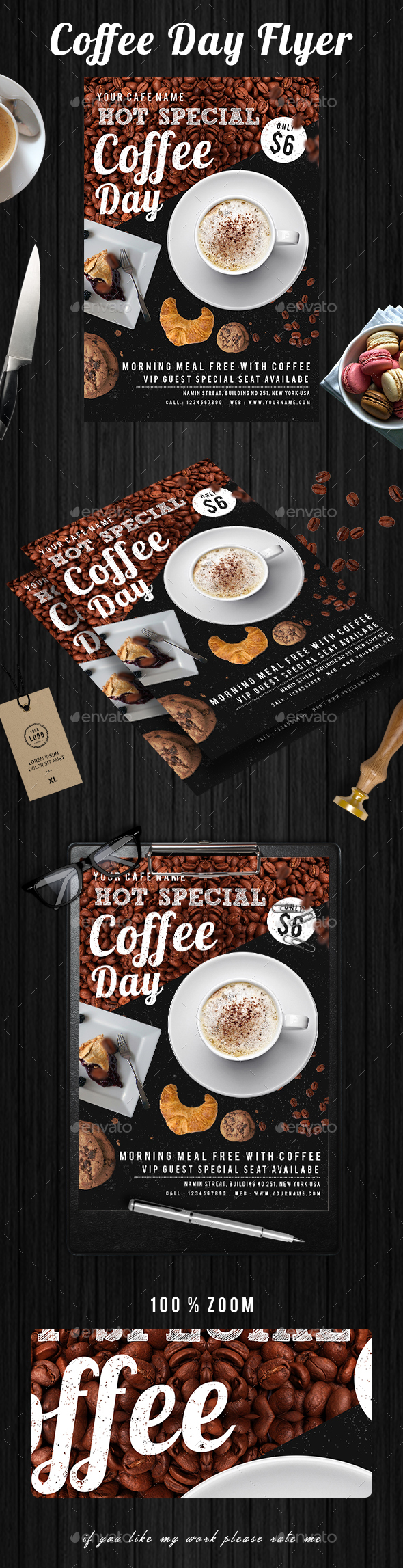 Coffee Flyer - Events Flyers