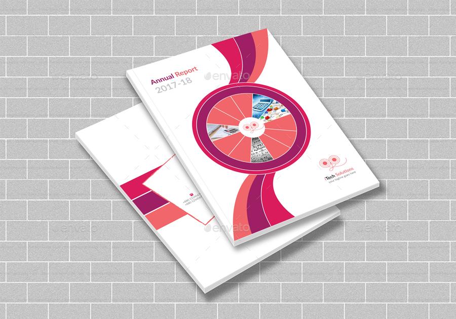 Annual Report Brochure Template 2017-18