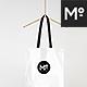 2 Canvas Tote Bags & Hangers Mock-ups Set