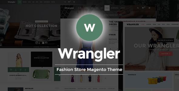 Wrangler - Fashion Store Responsive Magento Theme