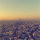 Paris, France - Panoramic view of Paris from Day to Night - VideoHive Item for Sale