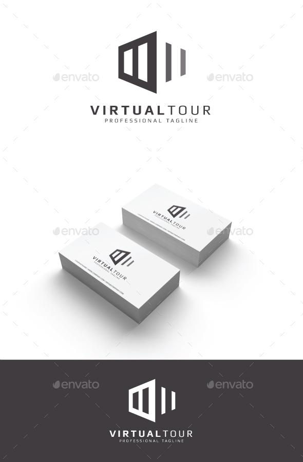 GraphicRiver Virtual Tour Logo 20365761