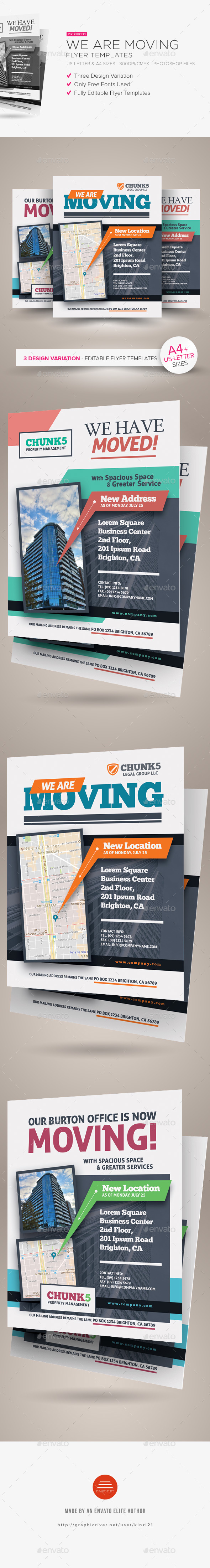 GraphicRiver We Are Moving Flyer Templates 20365799