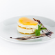 The dessert or cake over a white background. - PhotoDune Item for Sale