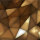 Luxury Gold Abstract Low Poly Background - VideoHive Item for Sale