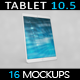 Tablet Pro 10.5 App MockUp 2017 Vol2 - GraphicRiver Item for Sale