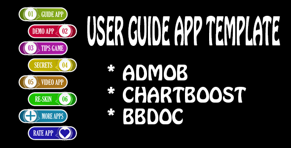 USER GUIDE APP TEMPLATE - ANDROID - BBDOC TEMPLATE - CodeCanyon Item for Sale