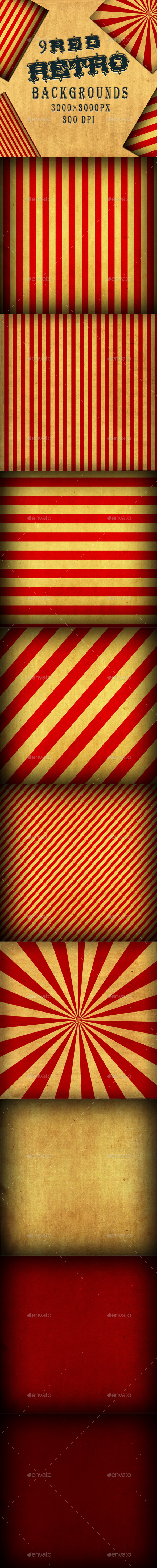 Retro Backgrounds - Backgrounds Graphics