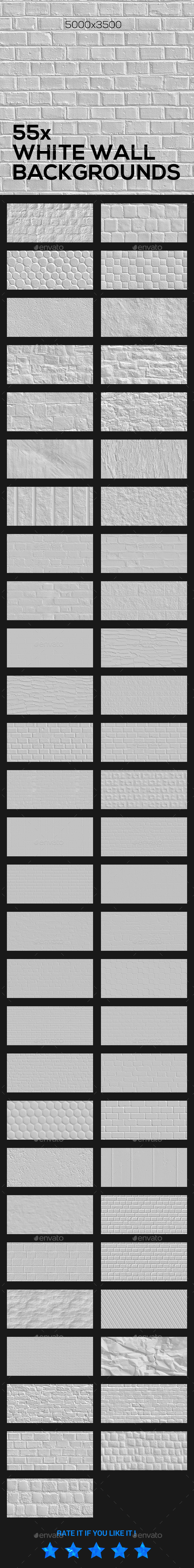 White Brick Wall Backgrounds - Backgrounds Graphics