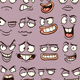 Cartoon Faces - GraphicRiver Item for Sale