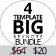 Bundle 4in1 Multipurpose Keynote Template