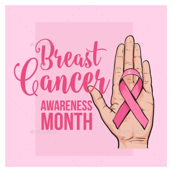 GraphicRiver Breast Cancer Awareness Month Banner Poster 20366532