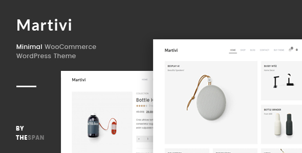 Martivi - Minimal WooCommerce WordPress Theme