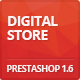 Digital Responsive Prestashop 1.6, 1.7 Theme - ThemeForest Item for Sale