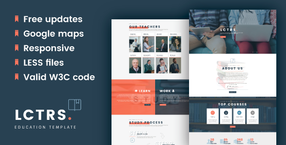 Download LCTRS - Education Responsive HTML5 Template
