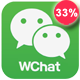 Php ajax chat script Fully Responsive - Wchat