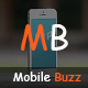 MobileBuzz | One Page - Responsive HTML5 Business Template Nulled