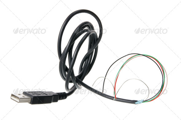 USB Cable - Stock Photo - Images