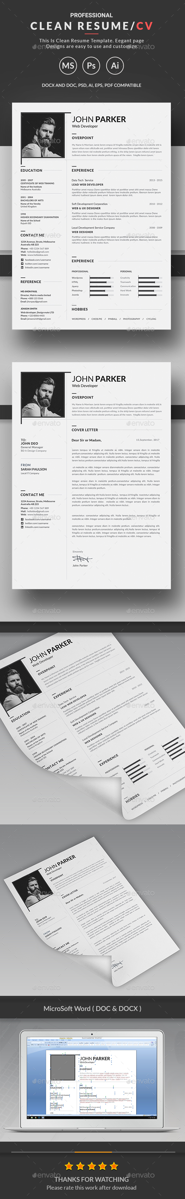 GraphicRiver Resume 20364141