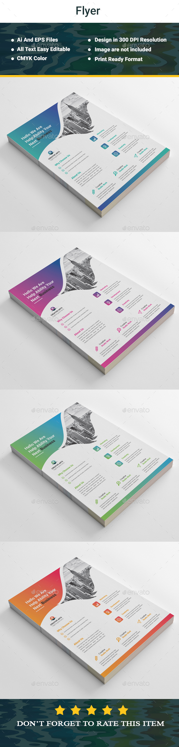 GraphicRiver Corporate Flyer 20367436