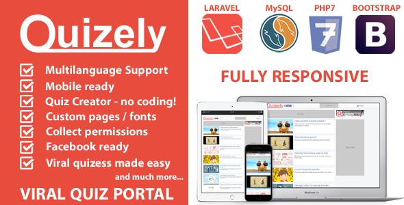 Quizely - Facebook Viral Quiz Script