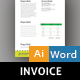 Gardening Invoice - GraphicRiver Item for Sale