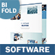 Software Business Bifold / Halffold Brochure