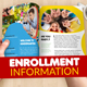 Kindergarten Enrollment Brochure - GraphicRiver Item for Sale